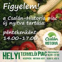 Csalán-Historia Helyi Termelői Piac