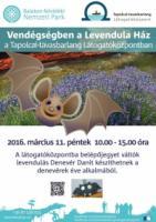 Vendégségben a Levendula Ház a Tapolcai-tavasbarlang Látógatóközpontban